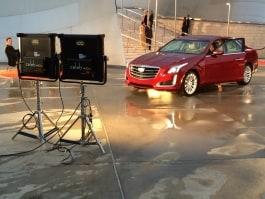 Kino Flo Celeb 400Q LED lights lighting car commercial set