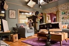 kino flo lights ligting television drama set