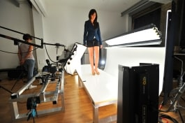kino flo lighting shoes for commercial product photography