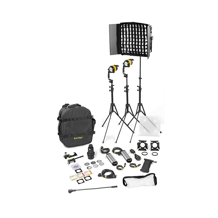 3 Light Kit - BICOLOR AC (STANDARD)(2x DLED / 1x Felloni)