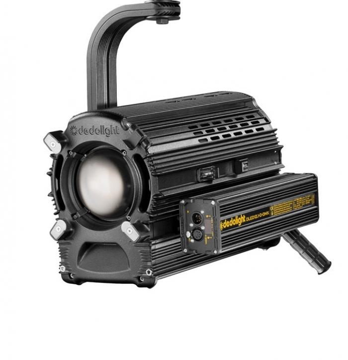 Dedolight 225W Focusing LED light head, daylight incl. DMX power supply