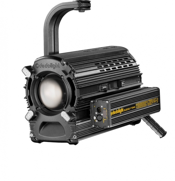 Dedolight 225W Focusing LED light head, tungsten incl. DMX power supply