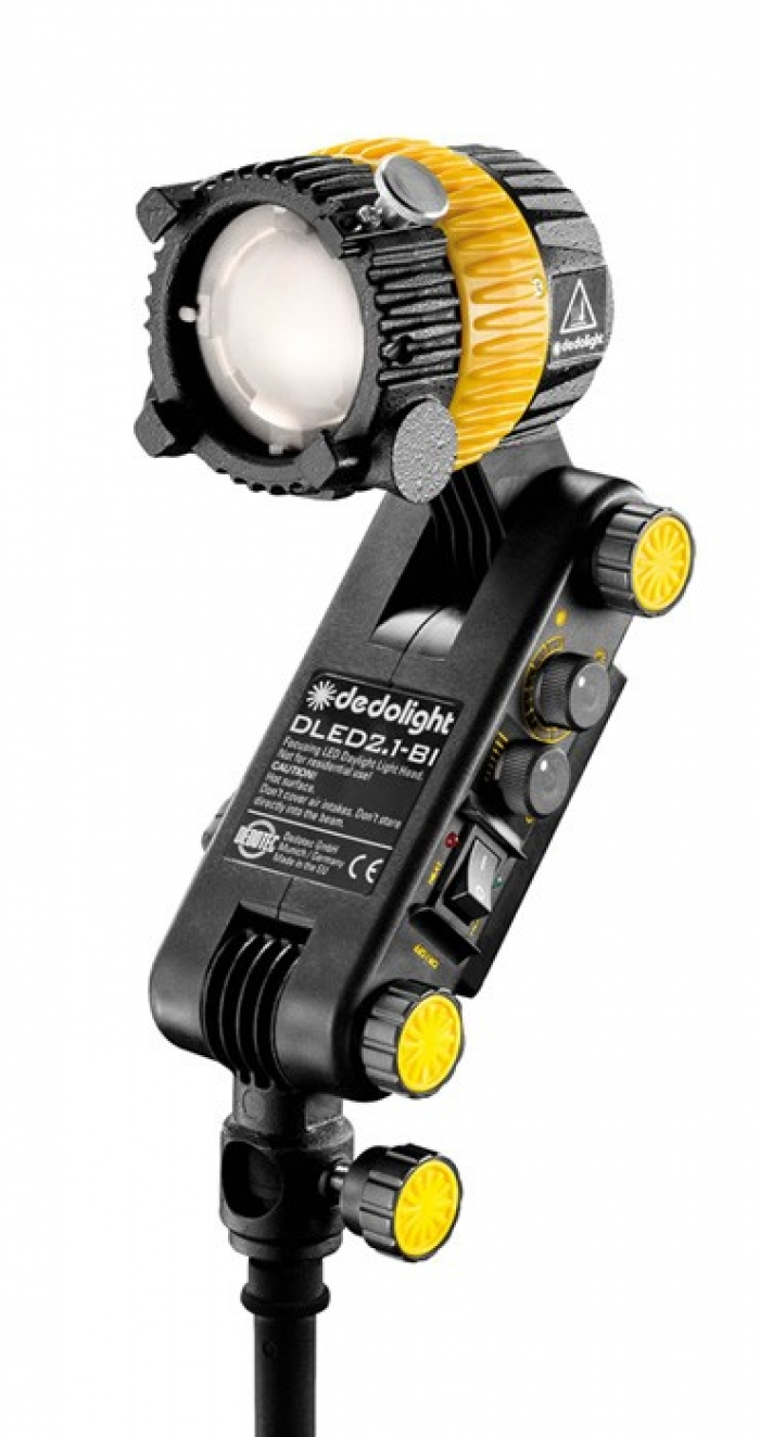 Dedolight 20W Focusing LED light head, bi-color with integrated ballast