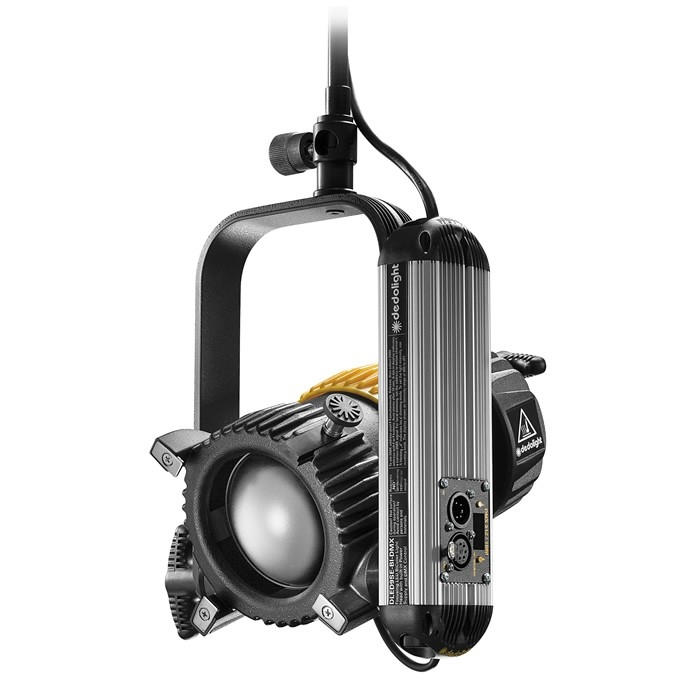 Dedolight 90W Focusing LED light head, bi-colour incl. DMX power supply, studio edition