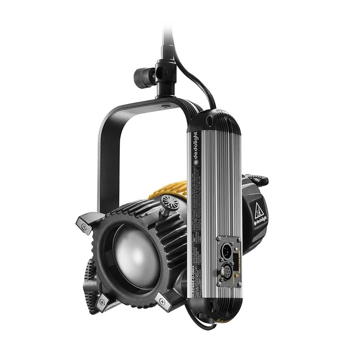 Dedolight 90W Focusing LED light head, daylight incl. DMX power supply, studio edition