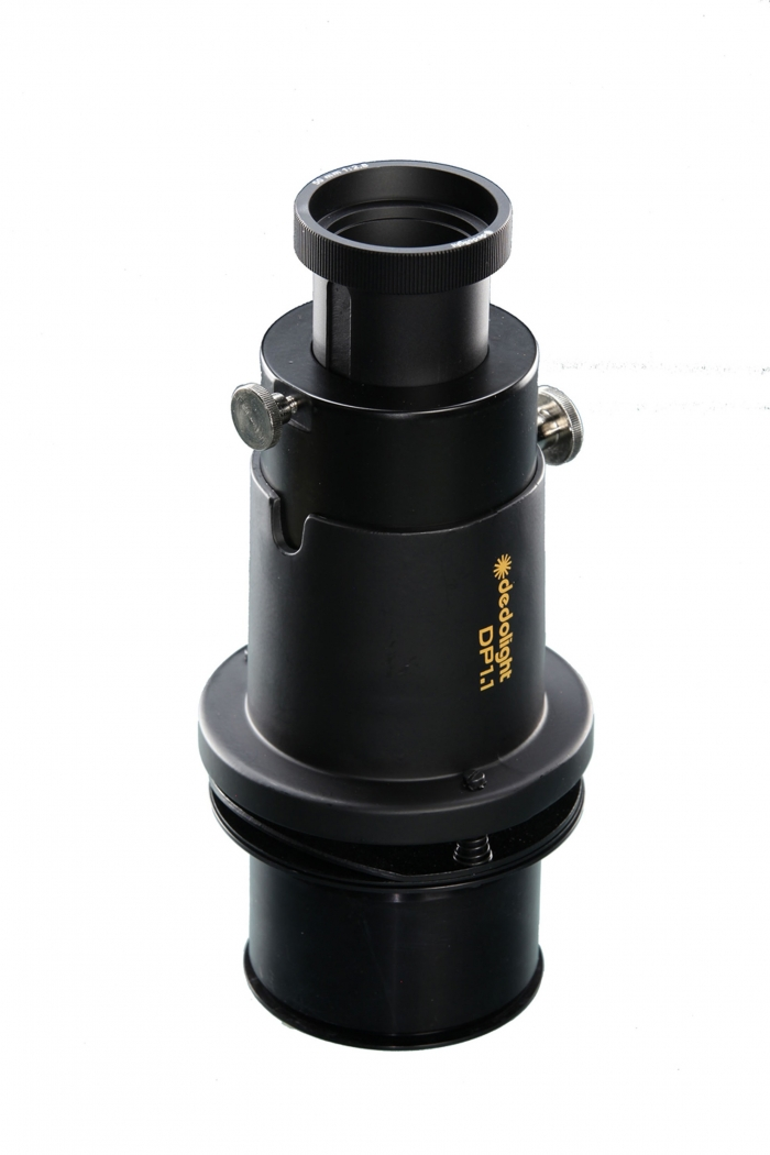 Imager projection attachment with 85mm lens (fits DLH4, DLED4 & DLED7) - Accessory chamber (Gobo+)