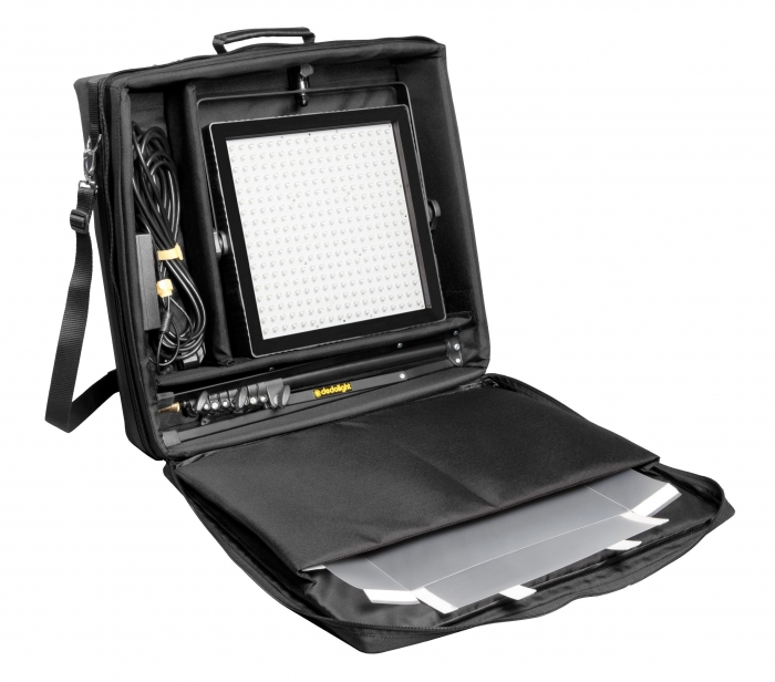 Felloni Bicolour Standard Output LED Head with soft case and stand