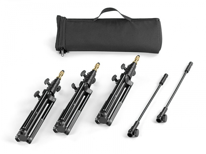 MINI Stand Kit inc 3 x DST in soft Carry Case