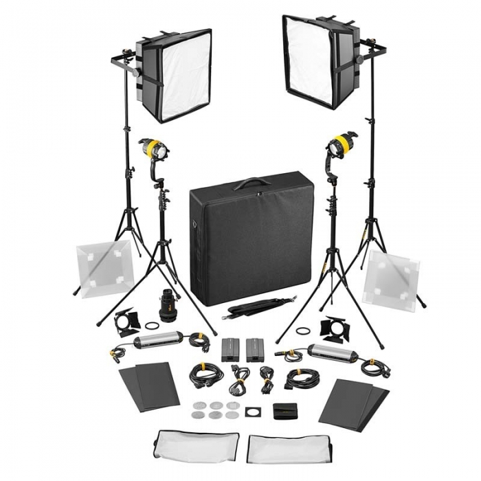 4 Light Kit - BICOLOR AC (BASIC)(2x DLED / 2x Felloni)