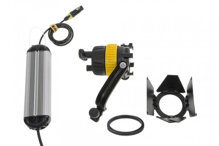 Dedolight DLED4 40W LED Bi Colour System, includes Fixture, Barndoors, Dimmer (90v-264v)