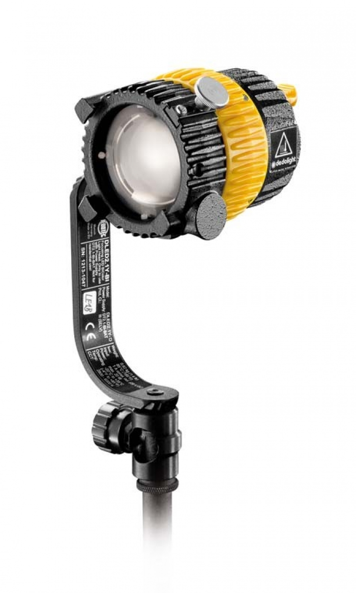 Dedolight 20W LED daylight head with yoke