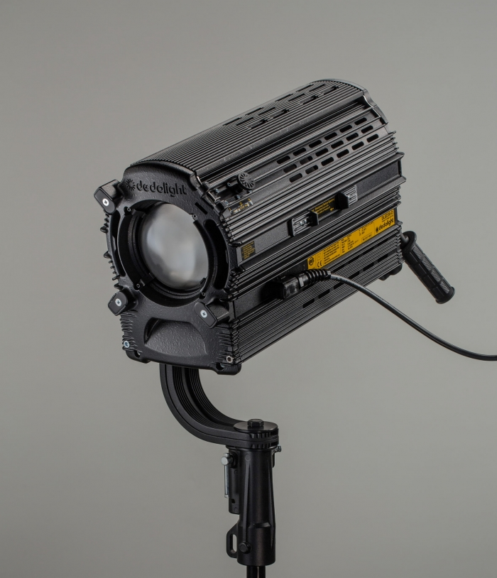 Dedolight 300W Focusing studio LED light - daylight, inc. DMX power supply