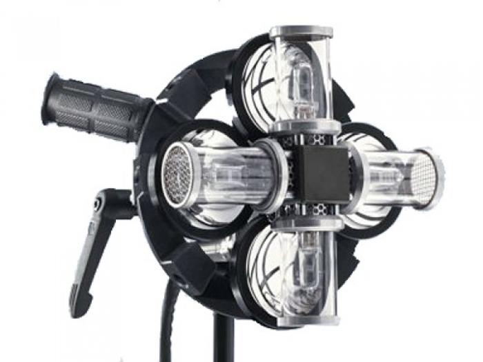 Tungsten Soft Light Head, 4 x 100/150W