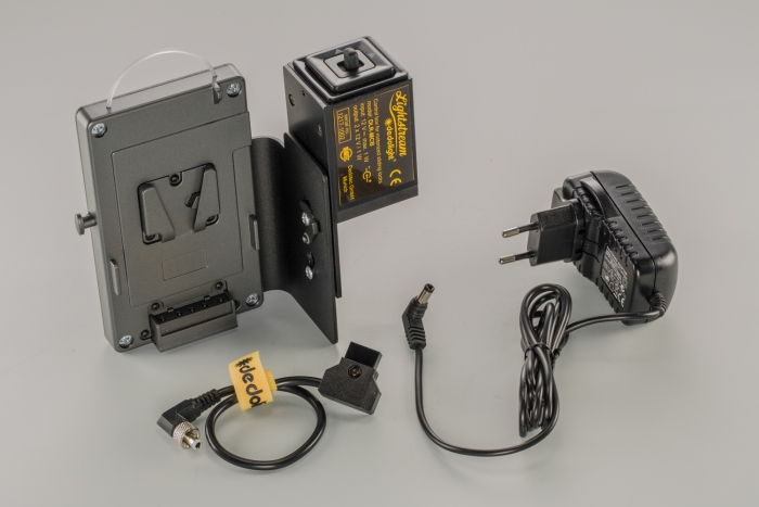 Control box for Lightstream motorized sliding locks dedolight crls