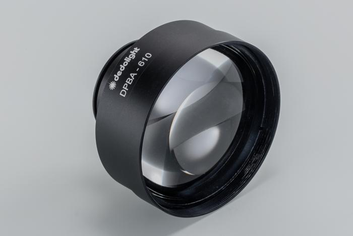 Dedolight Lightstream parallel beam adaptor attachment intensifier crls reflector