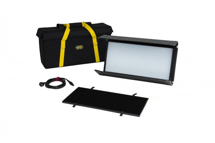 Kino Flo Diva-Lite LED 20 LED DMX Kit with soft Velcro Case, Univ 230U