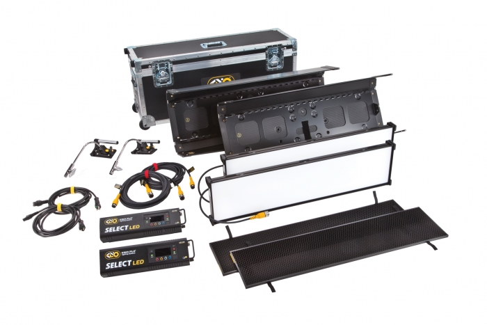 Kino Flo Select LED FreeStyle 31 lighting system with built-in colour filters, double kit with hard ship case