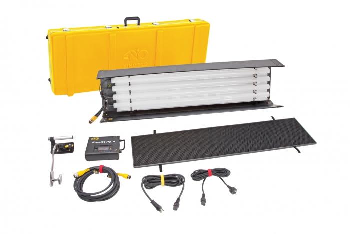 Kino Flo FreeStyle T44 LED DMX Kit,  Univ w/ Travel Case
