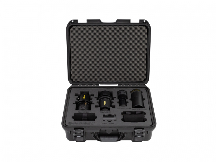 Dedolight Extended Lens Kit with DP1 and DP2, extra lenses and accessories
