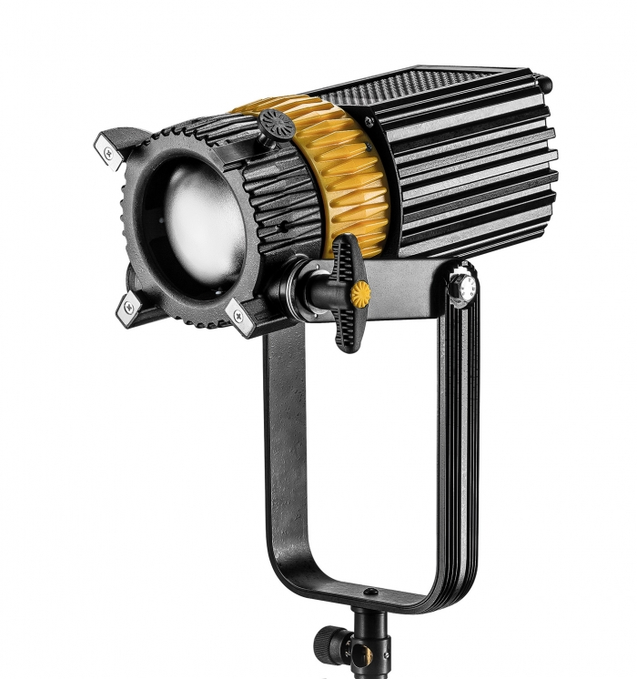 Dedolight 220W LED Bi-Colour System, includes Fixtures, Barndoors, Dimmer DLED10 DT10