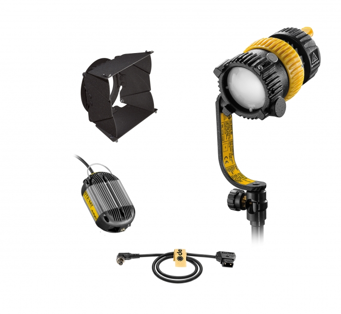 Dedolight DLED3 turbo daylight focusable led lighting system