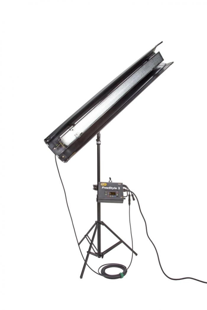 Kino Flo FreeStyle T41 LED DMX System, Universal, LED Tubes RGBWW 4ft 4 foot feet single bank