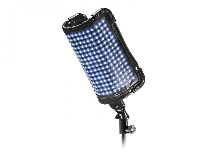Tecpro Liteflex flexible lightweight multi-LED bi-colour panel