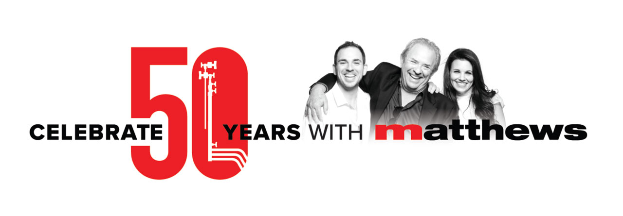 Matthews Studio Equipment celebrate 50 years