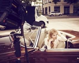 beauty photo shoot with dedolight dlh400 hmi light