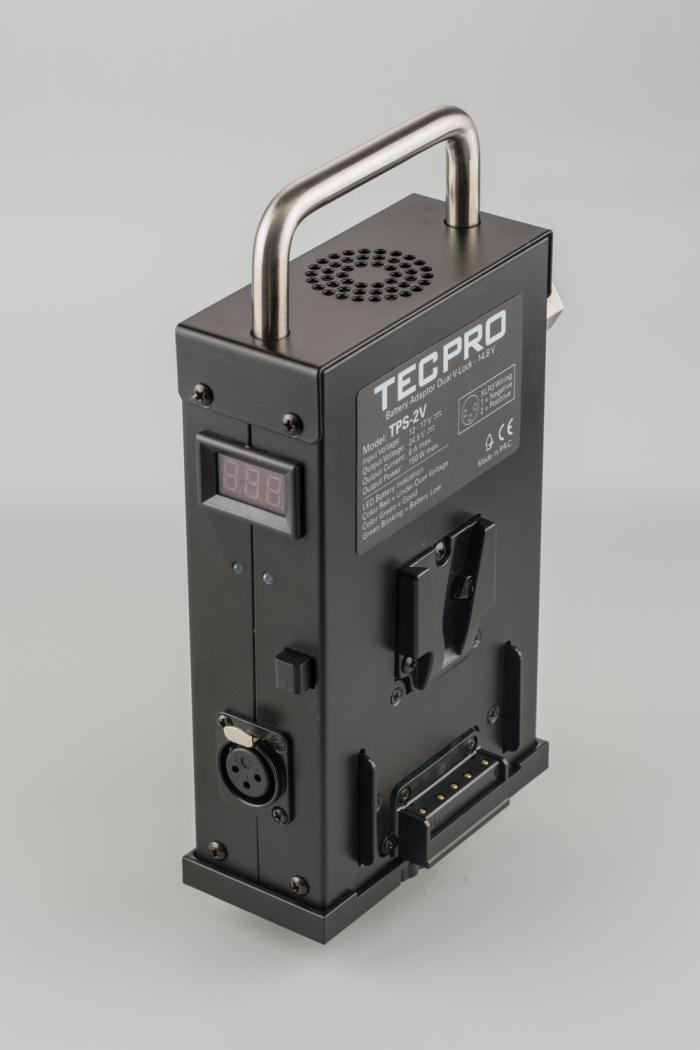 TPS-2V Felloni Turbo Power Station for two V-Lock batteries
